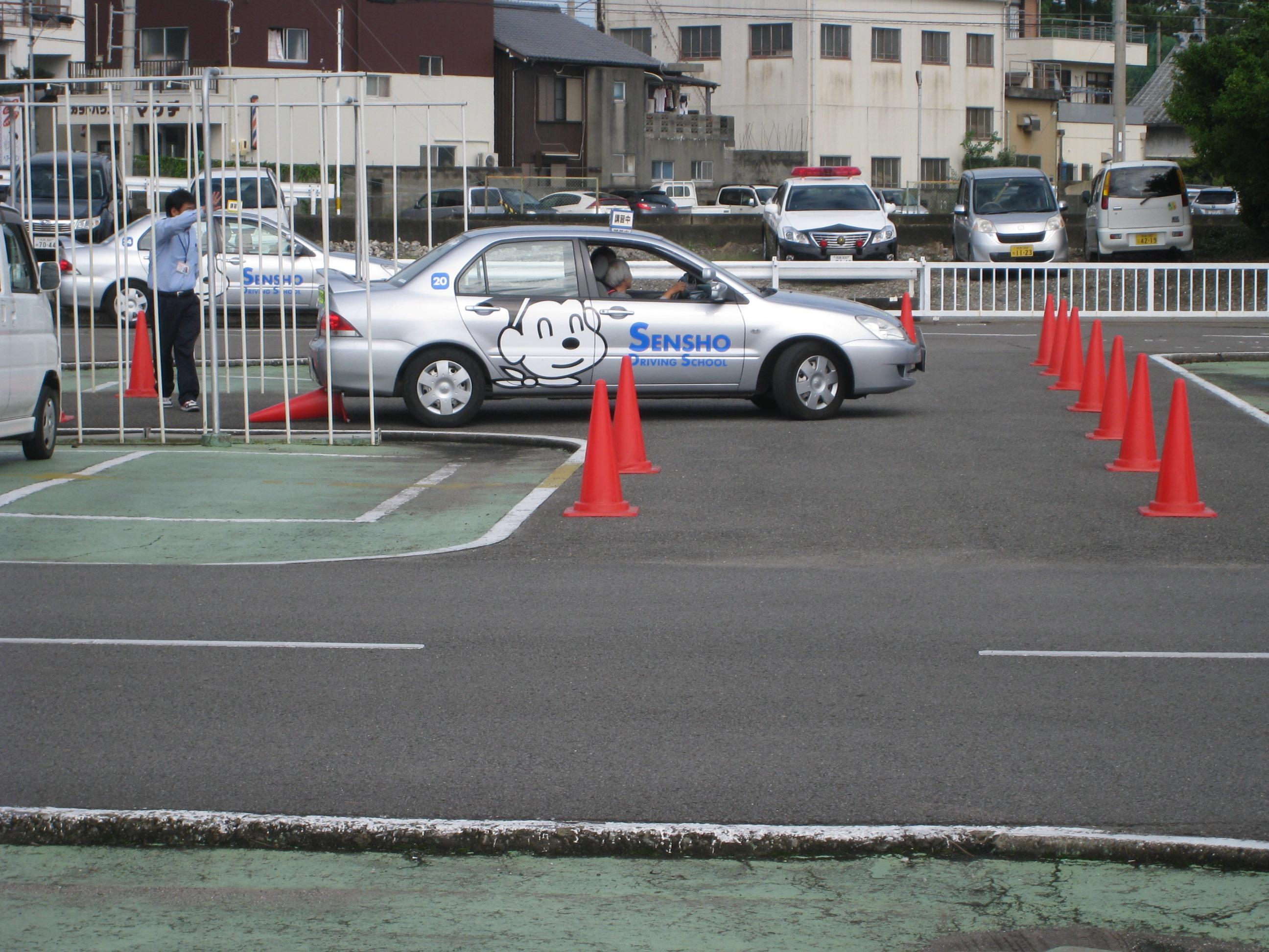 (3) 縦列駐車